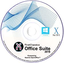 Office Suite 2019 Microsoft Word 2016 2013 2010 2007 365 Compatible Software CD Powered by Apache OpenOfficeTM for PC Windows 10 8.1 8 7 Vista XP 32 64 Bit & Mac OS X - No Yearly Subscription!