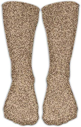 hgfyef Mosaic Texture Women's Hip-hop 3D Print Sport BascketBall Socks