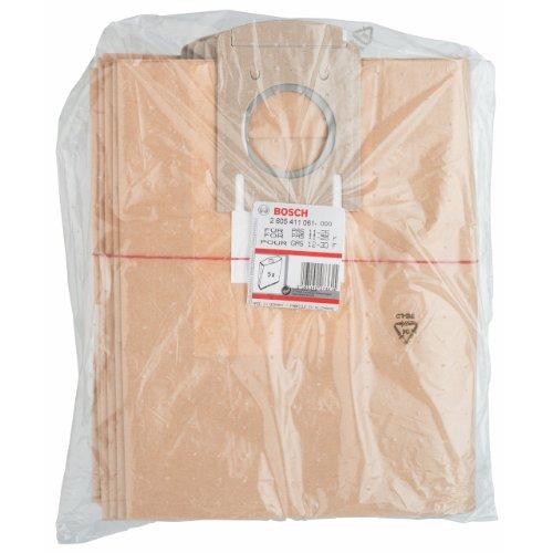 Bosch 2605411061 Sac-filtre en papier 5 pièces Pour PAS10/GAS12