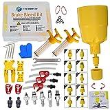 CYCOBYCO Kit de purga de freno hidráulico para bicicleta Shimano, SRAM, AVID, MAGURA, TEKTRO, Hayes compatible con todos los modelos (profesional)