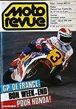 MOTO REVUE [No 2601] du 27/04/1983 - G.P. DE FRANCE : BON WEEK-END POUR HONDA ! ESSAI : HONDA 650 CX. RALLYE : PERNOD IRISH TROPHY 83, DU 27 MAI AU 3 JUIN. DUNLOP : NOUVEAUX PNEUS. CROSS : 125 ET 500 INTER FRANCAIS.