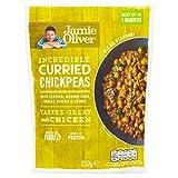 Jamie Oliver Garbanzos con curry con lentejas y especias indias listas para comer - 6 unidades