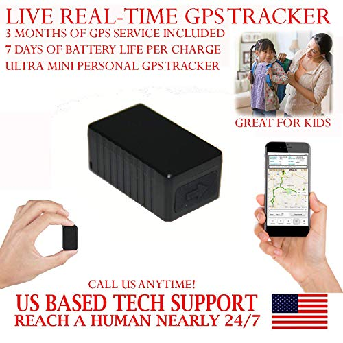 Find Discount AES RGT90MG Mini GPS Tracker with up to 7 Days Battery Life. PRE-Activated SIM Card wi...