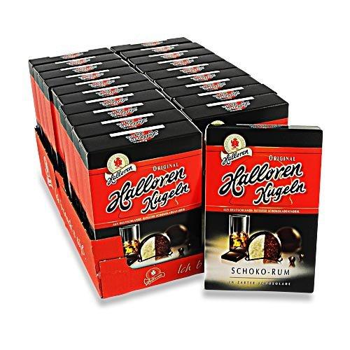Halloren Kugeln Schoko-Rum 20er Pack (20 Packungen à 125 g)