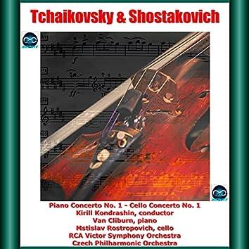 Tchaikovsky & Shostakovich: Piano Concerto No. 1 - Cello Concerto No. 1
