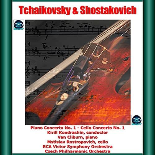 Van Cliburn, Mstlislav Rostropovich, Kirill Kondrashin, RCA Victor Symphony Orchestra & Czech Philharmonic Orchestra