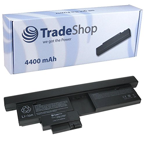 Trade-Shop Premium Akku 14,4V/14,8V 4400mAh für IBM Lenovo Thinkpad X200 Tablet 2263 2266 4184 7448 7449 7450 7453 X 200t X201 X 201i X201t Tablet