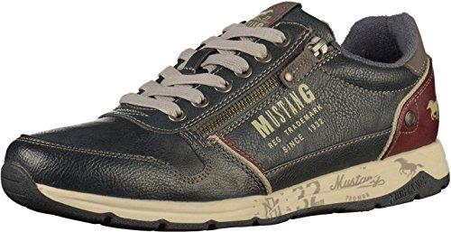 MUSTANG Herren 4106-306 Sneaker, Blau (Navy 820), 43 EU