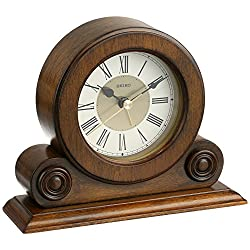 Seiko Scroll Desk & Table Alarm Clock