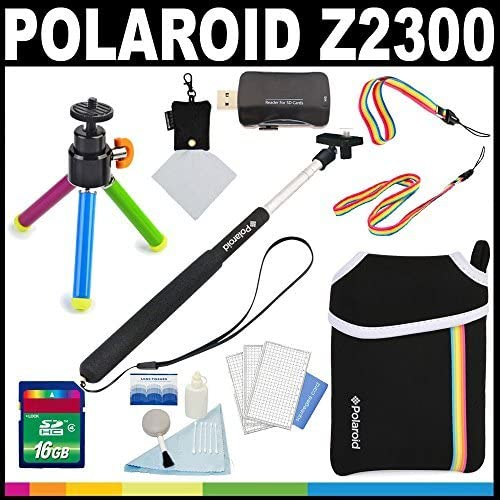 popular Polaroid Deluxe Essential KIT for outlet sale The Polaroid Z2300 Instant Print Camera - high quality Great Add On Package outlet online sale