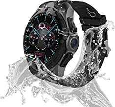 Waterproof smartwatch Android IP68 Professional Waterproof 3G Smartwatch Phone 2GB RAM 16GB ROM 2.0MP Camera GPS Sports Fitness Tracker 460mAh Battery WiFi Support