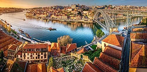Castorland C-400232-2 The Last Sun on Porto, 4000 Teile Puzzle, bunt