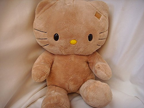 """Hello Kitty Sunkissed Tan Hawaii Tropical Large Plush Toy 18"""""""