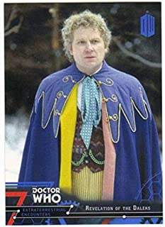 2016 Topps Doctor Who Exraterrestrial Encounters Blue /99 #66 Revelation Daleks