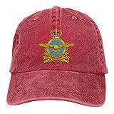 YeeATZ Royal Canadian Air Force Badge Adjustable Baseball Caps Denim Hats Cowboy Sport Outdoor New
