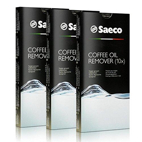 3x Saeco Kaffeefettlöser Tabletten - für Kaffeevollautomaten - CA6704/99 - 10 Tabletten