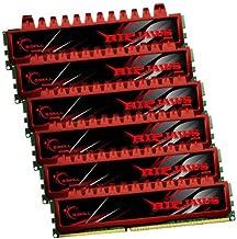 G.SKILL Ripjaws Series 24GB (6 x 4GB) 240-Pin DDR3 SDRAM DDR3 1333 (PC3 10666) Desktop Memory Model F3-10666CL9T2-24GBRL