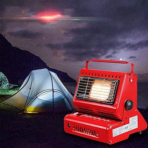 Yinleader Gasheizung Keramik Outdoor Zelt RV Camping Keramikbrenner (red)