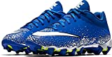 Nike Boy's Vapor Shark 2.0 (GS) Football Cleat Game Royal/White/Black Size 3.5 M US