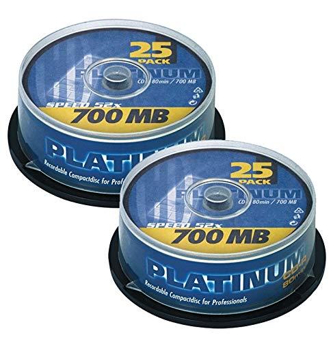 Platinum CD-R 700 MB CD-Rohlinge...