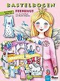 Feenhaus Bastelbogen mit Anziehpuppe: 3d bespielbares Puppenhaus für Prinzessin und Einhorn - ATELIER COLOR House of Ideas