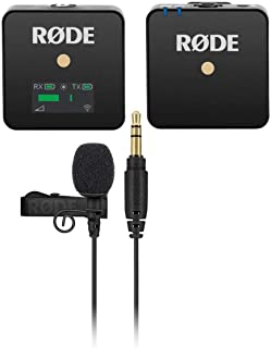 Rode Microphones Wireless GO Compact Microphone System Includes Tansmitter and Receiver - With Rode Microphones Lavalier G...