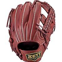 ゼット(ZETT) 軟式野球 グラブ(グローブ) ソフトステア オールラウンド用 右投げ用 ボルドーブラウン(4000) サイズ:4 BRGB35050