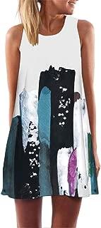 UONQD 2019d Women's Loose Short Sleeve Round Neck Solid Summer T-Shirt Tops Blouse