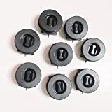 AZERONE Car Mat Carpet Clips Fixing Grips Clamps Floor Holders Sleeves Anti Slip Buckle (8)
