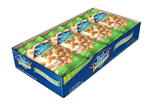 Kansas City Mall Blue Diamond Almonds Raw Whole Natural 4 of 12 Ranking TOP18 Pack Ounce