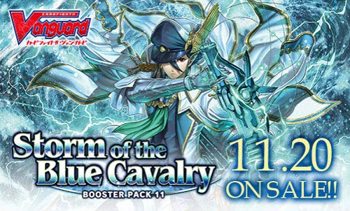 Cardfight Vanguard Storm of The Blue Cavalry CFV VBT11 Booster Box - 16 Packs