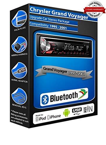 Pioneer DEH-3900BT - Autoradio con USB, CD, MP3, AUX In Bluetooth