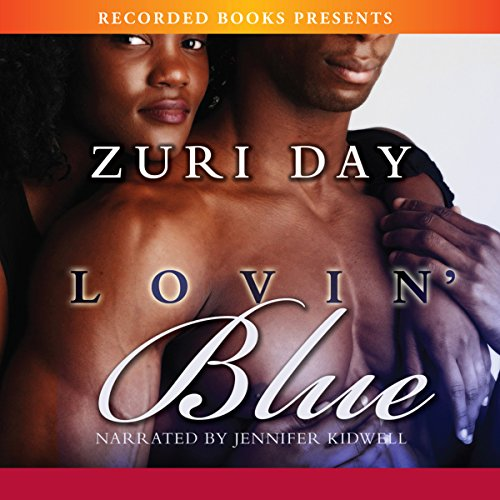 Lovin Blue audiobook cover art