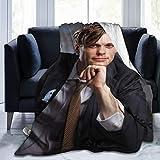 CaryJShelby Matthew Gray Gubler Blanket Throw Size Ultra Soft Flannel Fleece All Season Light Weight Living Room/Bedroom Warm Blanket 50'X40'