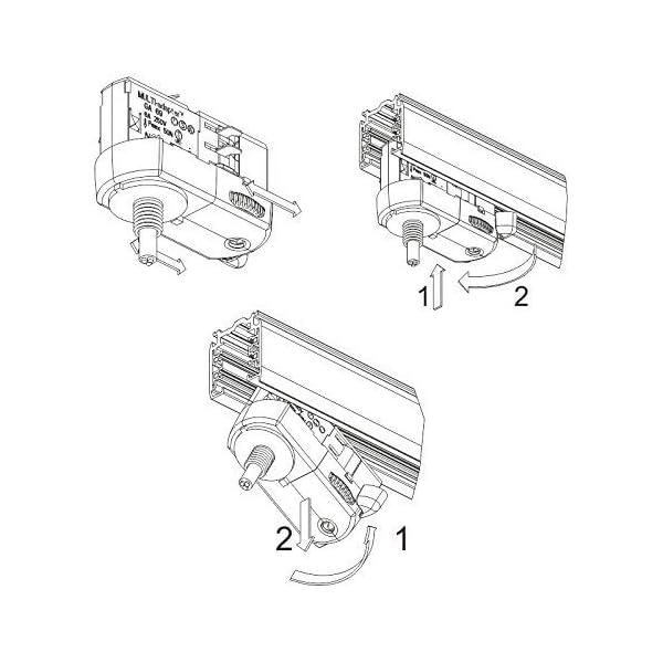 MULTI-adapter-GA69-fr-3-Phasen-Stromschienen-inkl-Alunippel-und-Zugentlaster-als-komplett-SET-zur-Leuchtenabhngung-versch-Ausfhrungen