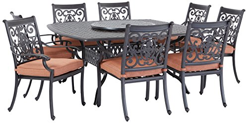 Similar to Allen and Roth patio furniture: Aluminum Patio Dining Set