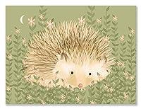 Oopsy daisy Holly the Hedgehog Canvas Wall Art by Meghann O'Hara, 24 by 18-Inch by Oopsy Daisy