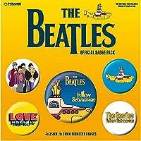BEATLES ビートルズ (来日55周年記念) - YELLOW SUBMARINE 5個セット / バッジ 【公式/オフィシャル】