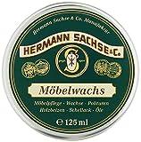 Möbelwachs farblos - 125ml Antikwachs natürlich & wirkungsvoll, in Deutschland hergestellt aus...