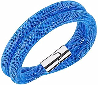 Swarovski Stardust Capri Blue Double Bracelet - 5186426