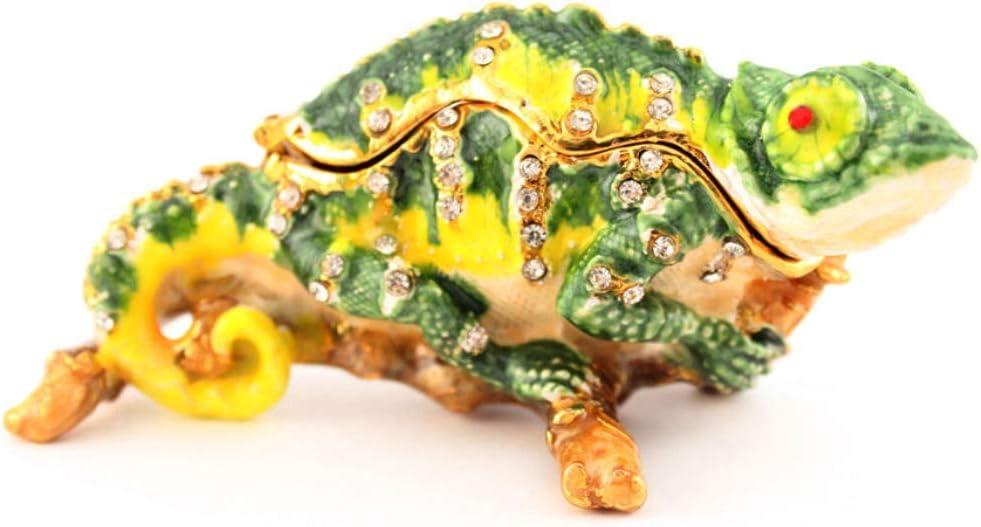 Price reduction 1 Pcs Jewelry Trinket Box Decorative Retile #AA36 Lizard Shape Direct stock discount