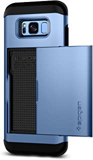Spigen Slim Armor CS Designed for Samsung Galaxy S8 Case (2017) - Coral Blue