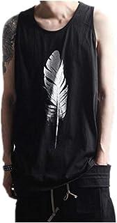 iYYVV Gym Men Tee Shirt Muscle Sleeveless Tank Tops Bodybuilding Sport Fitness Vest