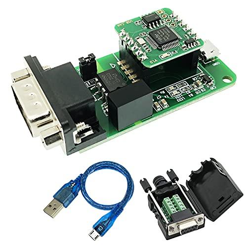 USB zu CAN Konverter Modul for Raspberry Pi4/Pi3B+/Pi3/Pi Zero(W)/Jetson Nano/Tinker Board and Any Single Board Computer Support Windows Linux and Mac OS (USB2CAN-DevKit)