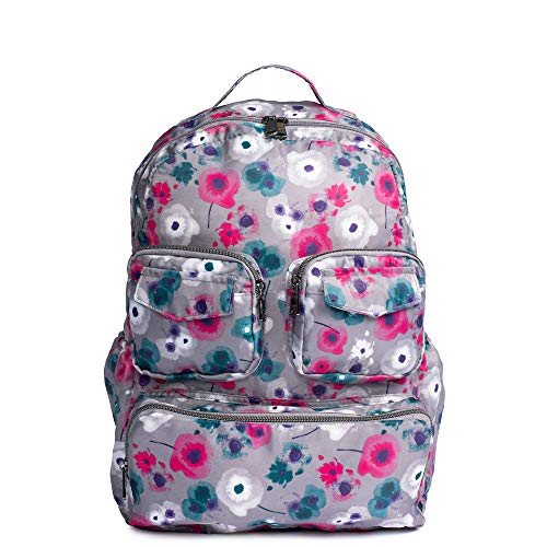 Lug Women's Puddle Jumper Backpack, Watercolor Pearl, Large