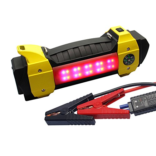 New GOLDEN EYE 13200mAh 400A Peak Current Portable Car Jump Starter Auto Booster Battery, for Engine...