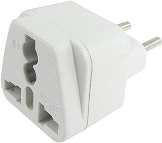X-DREE White Plastic Housing AC 10/16A 220V For AU EU US UK Socket Italy Plug (64d064cb-a222-11e9-8d7c-4cedfbbbda4e)