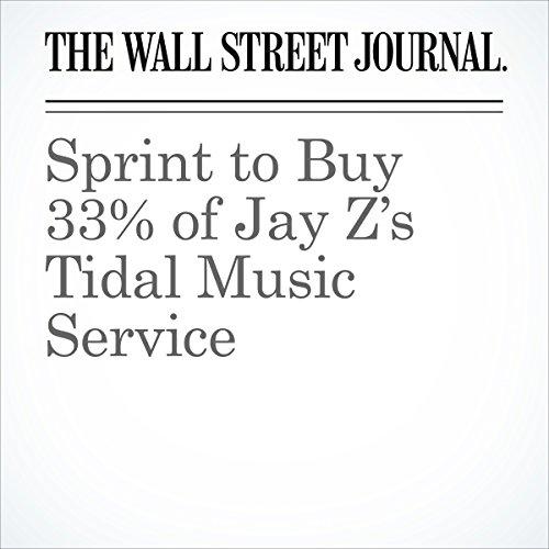 Sprint to Buy 33% of Jay Z's Tidal Music Service copertina