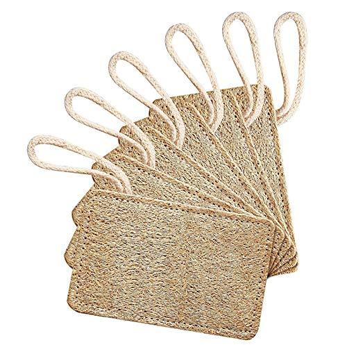 6 piezas de esponja de luffa natural para limpieza de platos