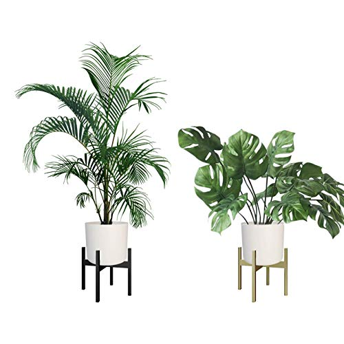 AWNIC Soporte para Plantas de Metal Interior (no se Incluyen las Macetas) Soporte para flores...